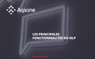 Principales Fonctionnalités du NLP